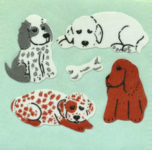 Load image into Gallery viewer, Pack of Paper Stickers - Puppies & Bone