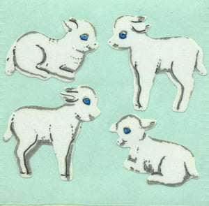 Pack of Paper Stickers - Lambs