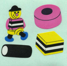 Load image into Gallery viewer, Pack of Paper Stickers - Liquorice Allsorts