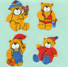 Load image into Gallery viewer, Pack of Paper Stickers - 4 Seasons Teds