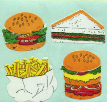 Load image into Gallery viewer, Pack of Paper Stickers - Fast Food