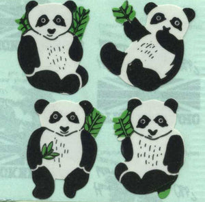 Pack of Paper Stickers - Pandas