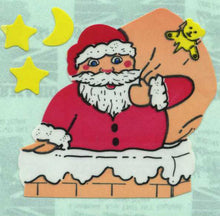 Load image into Gallery viewer, Pack of Paper Stickers - Santas