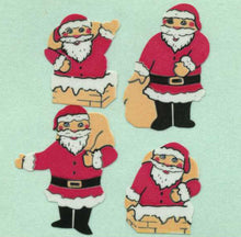 Load image into Gallery viewer, Pack of Paper Stickers - Mini Santas