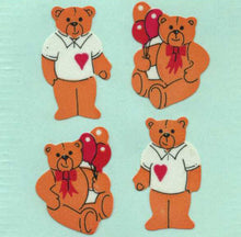 Load image into Gallery viewer, Pack of Paper Stickers - Teddies In T-Shirts