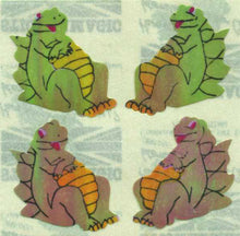 Load image into Gallery viewer, Pack of Pearlie Stickers - Dragons