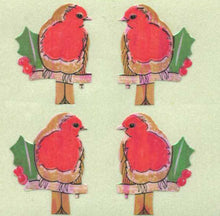 Load image into Gallery viewer, Pack of Pearlie Stickers - Robins