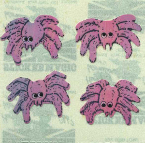 Pack of Pearlie Stickers - Spiders