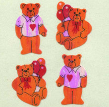 Load image into Gallery viewer, Pack of Pearlie Stickers - Teddies In T-Shirts