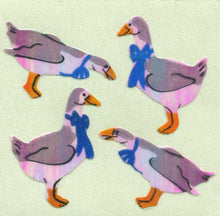 Load image into Gallery viewer, Pack of Pearlie Stickers - Geese
