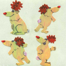 Load image into Gallery viewer, Pack of Pearlie Stickers - Reindeer