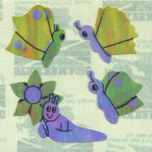 Load image into Gallery viewer, Pack of Pearlie Stickers - Butterflies