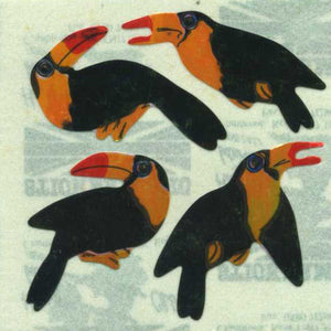 Pack of Pearlie Stickers - Toucans