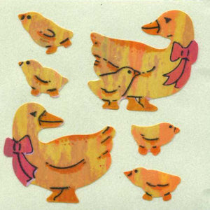 Pack of Pearlie Stickers - Duck Family