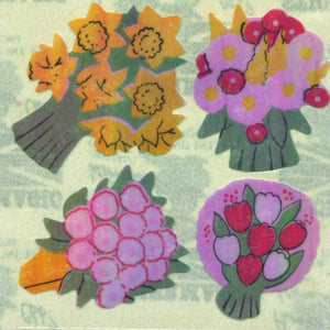 Pack of Pearlie Stickers - Floral Posies