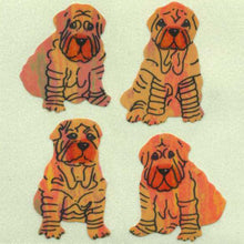 Load image into Gallery viewer, Pack of Pearlie Stickers - Shar Peis
