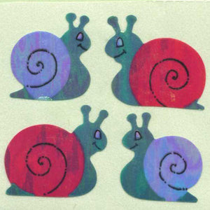 Pack of Pearlie Stickers - Snails