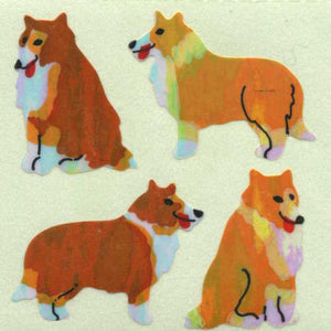 Pack of Pearlie Stickers - Collies