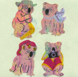 Pack of Pearlie Stickers - Koala Characters