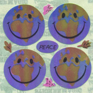 Pack of Pearlie Stickers - Happy World