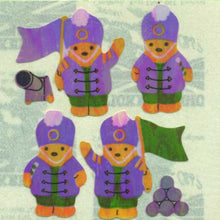 Load image into Gallery viewer, Pack of Pearlie Stickers - Soldier Teddies