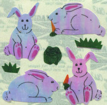 Load image into Gallery viewer, Pack of Pearlie Stickers - Bunny & Carrot