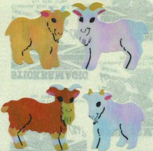 Pack of Pearlie Stickers - Goat Kids