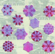 Load image into Gallery viewer, Pack of Pearlie Stickers - Snowflakes