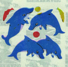 Load image into Gallery viewer, Pack of Pearlie Stickers - Dolphin & Fish