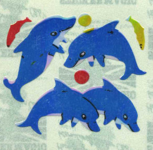 Pack of Pearlie Stickers - Dolphin & Fish