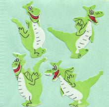 Load image into Gallery viewer, Pack of Paper Stickers - Funny Dragons