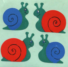 Load image into Gallery viewer, Pack of Paper Stickers - Snails
