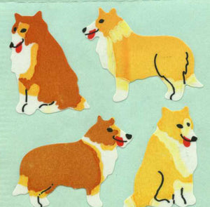 Pack of Paper Stickers - Collies