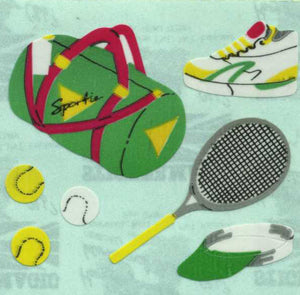 Pack of Paper Stickers - Sports Bag