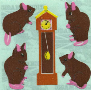 Pack of Paper Stickers - Hickory Dickory Dock