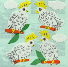 Load image into Gallery viewer, Pack of Paper Stickers - Cockatoos