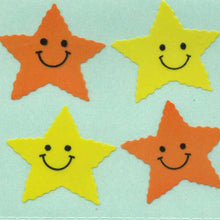 Load image into Gallery viewer, Pack of Paper Stickers - Smiley Stars