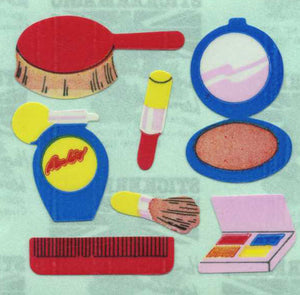 Pack of Paper Stickers - Make-up Set