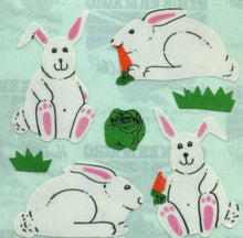 Load image into Gallery viewer, Pack of Paper Stickers - Bunny Rabbits & Carrot