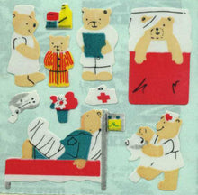 Load image into Gallery viewer, Pack of Paper Stickers - Micro Teddy Hospital