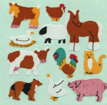 Load image into Gallery viewer, Pack of Paper Stickers - Micro Farmyard Friends