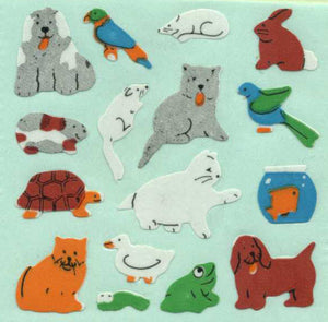 Pack of Paper Stickers - Micro Pets