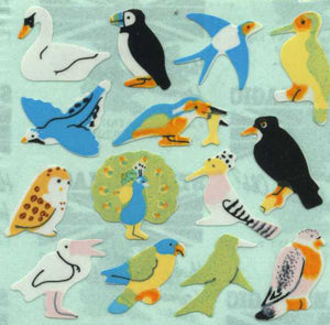 Pack of Paper Stickers - Micro Birds