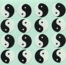 Load image into Gallery viewer, Pack of Paper Stickers - Yin Yang