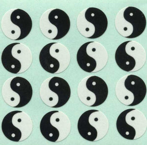 Pack of Paper Stickers - Yin Yang