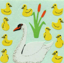Load image into Gallery viewer, Pack of Paper Stickers - Swans And Cygnets