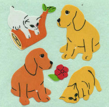 Load image into Gallery viewer, Pack of Paper Stickers - Puppies & Kittens