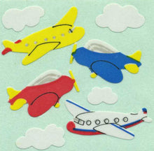 Load image into Gallery viewer, Pack of Paper Stickers - Aeroplanes