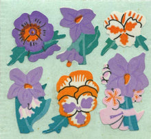 Load image into Gallery viewer, Pack of Paper Stickers - Pansies