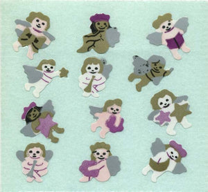 Pack of Paper Stickers - Cherubs